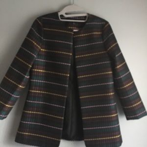 New Ann Taylor muiltcolor jacket size XS w tag